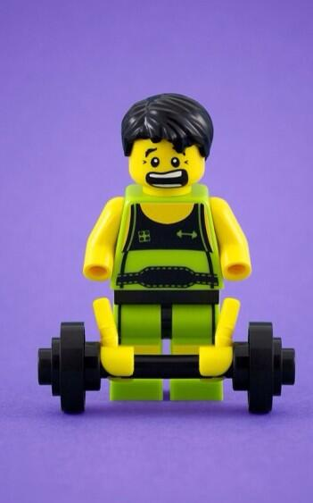 The #GymSelfie of the day – Lego