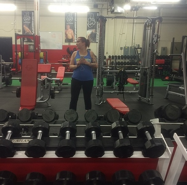 #GymSelfie of the day – @Withane_Lindsey – Looking the wrong way #selfie