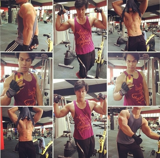 #GymSelfie of the day – @ZarulZaqwan