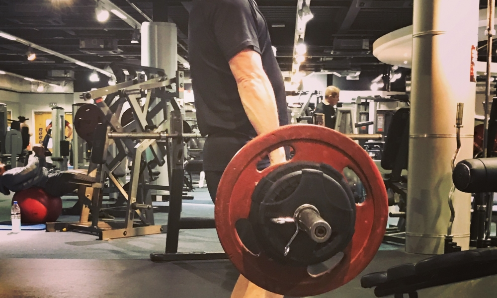 Come on then – let's get on it! Trying to gain muscle after weight loss…