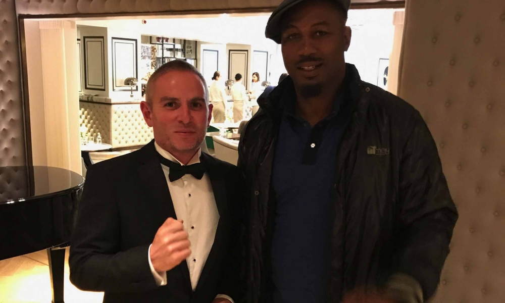 Meeting Lennox Lewis, motivated by Eddie Hall and plateau training